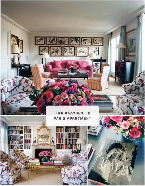 lee radziwill paris apartment source http sohautestyle com 2013 02 lee ...