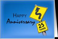 25th Year Business Anniversary, Company, Corporate Congratulations ...