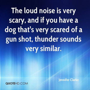 ... Dog That's Very Scared Of A Gun Shot, Thunder Sounds Very Similar