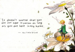 Most popular tags for this image include: little prince, love, quote ...