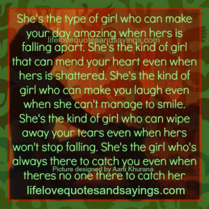 She Is The Kind Of Girl...