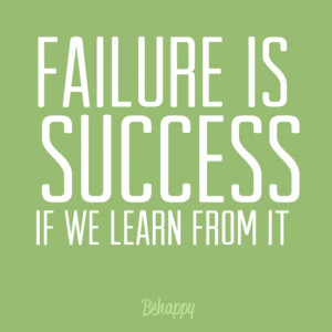 Failure Quote Learn From