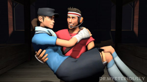 Scout Love Team Fortress
