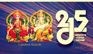 ... new year 2015 god laxmi and ganesh wallpaper pictures happy new year