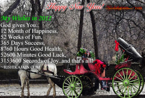 happy new year2012,new year quotes,welcome new year Wishes Quotes ...