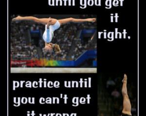 Gymnastics Poster Shawn Johnson Olympic Gymnast Photo Quote Wall Art ...