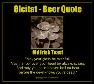 Irish Toasts Quote old irish toast