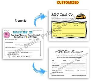 ... -DRIVER-LIMO-SERVICE-INVOICE-RECEIPT-QUOTE-DUPLICATE-COPY-FORMS-BOOK