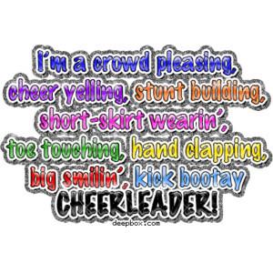 Cheerleading Cheer Quote Cute Sayings