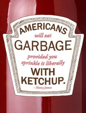 Americans Garbage Food