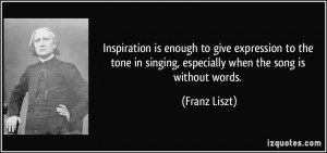 Inspirational Quotes About Singing