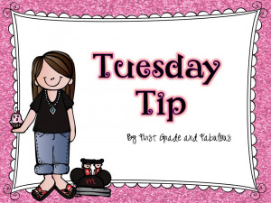 Tuesday Tip, a Product, and a Freebie