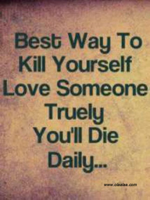 Funny Love Quotes-die-true love