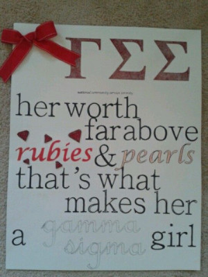 ... love with this poster I just made! #gammasig #sorority #poster #quote