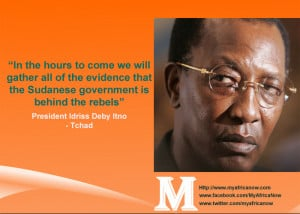 Tchad President Idriss Deby Itno – Famous Quote