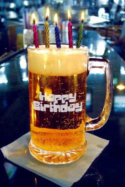 Happy birthday Ken, with a lot of beers!