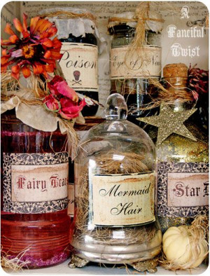 Life {Gypsy Dreams}Magic Potion, Bottle Ideas, Hallows Eve, Halloween ...