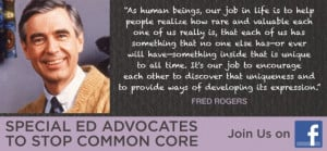 Arne Duncan and Fred Rogers. Which One Would You Describe as a Hero?