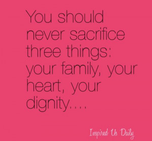 family quotes, sayings, sacrifice