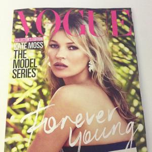 Vogue Australia July 2013 : Kate Moss by Patrick Demarchelier