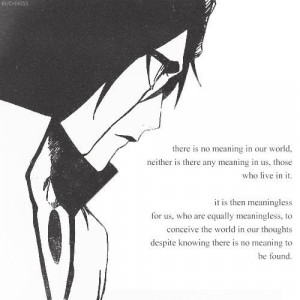 Bleach Quotes Ulquiorra Ulquiorra. via heidi