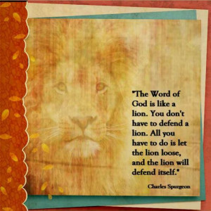 Lions With Quotes