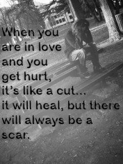 Sad Quotes:- When You Are IN Love.....