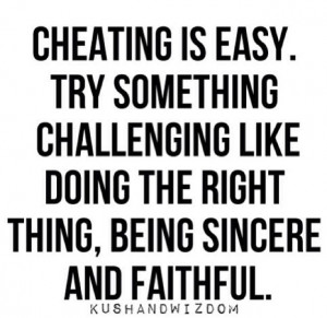 Being faithful