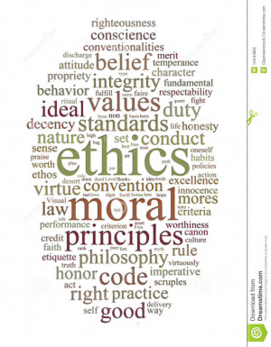 More similar stock images of ` Ethics and principles word cloud `