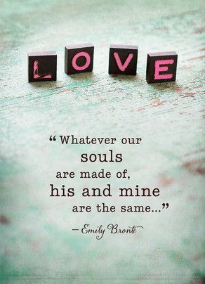 Love Scrabble Romantic Valentine's Day Card