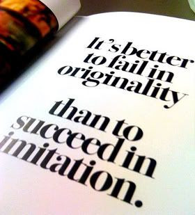 ... About Be Originals, Quotes About Individual, Quotes About Imitation
