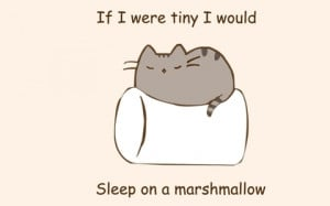 paintings minimalistic text cats quotes marshmallow phrase simple ...