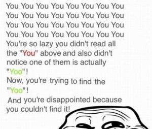 you-you-you
