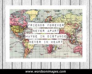 Friendship travel quotes