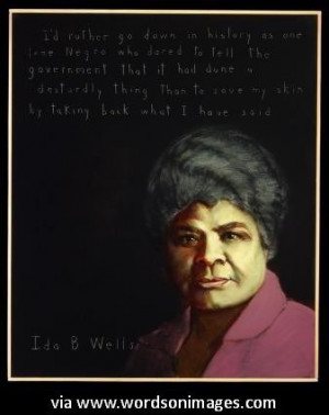 Quotes by ida b wells