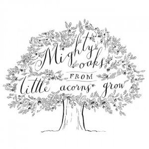 mighty oak tree quotes