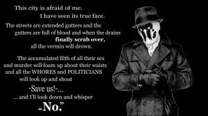 Watchmen Rorschach Quotes