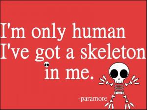 Cute Human Paramore Quotes