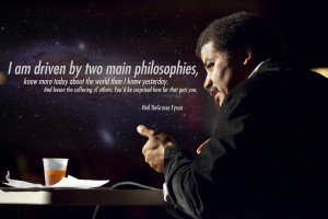 Neil Tyson Inspirational Picture Quote Wallpaper
