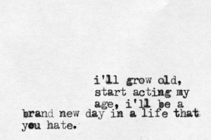 Brand New Band Quotes Tumblr Shot- brand new submitted