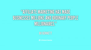 Affiliate marketing has made businesses millions and ordinary people ...