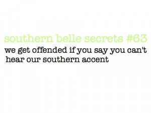 southern accent quotes