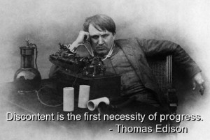 Thomas edison, best, quotes, sayings, wisdom, progress, deep