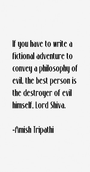 Amish Tripathi Quotes & Sayings