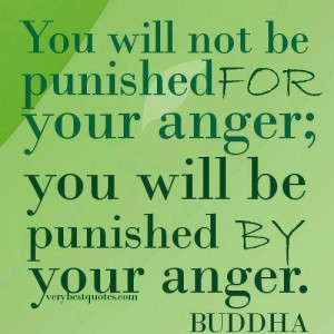 Let go of anger. Or at least use it constructively.