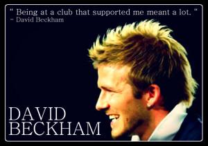 David Beckham Quotes Tumblr Football Wallpaper picture
