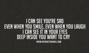 ... , cry, eminem, fake smile, laugh, lyrics, mockingbird, quotes, sad
