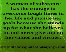 Strong Woman Quote About Life