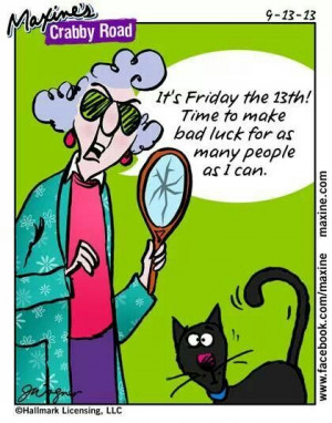 Maxine - Friday the 13th