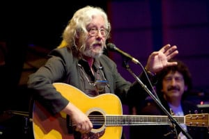 ARLO GUTHRIE TOURS ON 40TH ANNIVERSARY OF